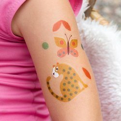 Tatuaże zmywalne dla dzieci, Dzikie zwierzęta, Rex London