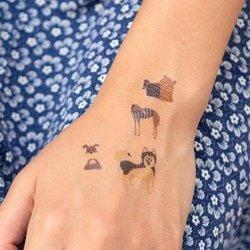 Tatuaże zmywalne dla dzieci, Pieski, Rex London