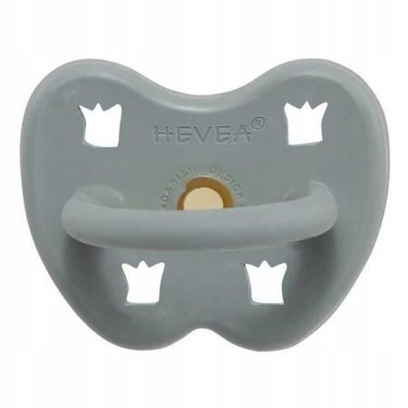 Anatomiczny smoczek kauczukowy Gorgeous Grey 3m+ HEVEA