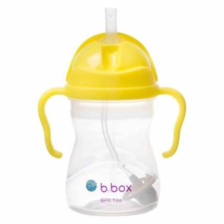 B.BOX Innowacyjny bidon ze słomką Cytrynowy B.BOX