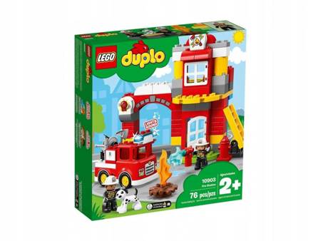 KLOCKI LEGO 10903 Duplo Remiza strażacka