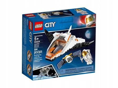 Klocki LEGO 60224 City Naprawa satelity