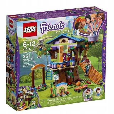 Klocki LEGO Friends Domek na drzewie Mii 41335