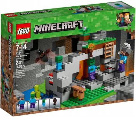 Klocki LEGO Minecraft Jaskinia zombie 21141