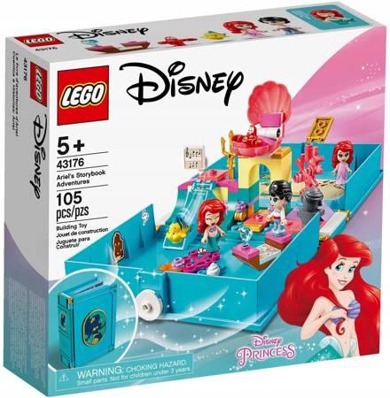 LEGO 43176 Disney Książka z przygodami Arielki