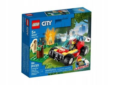 LEGO 60247 City Pożar lasu
