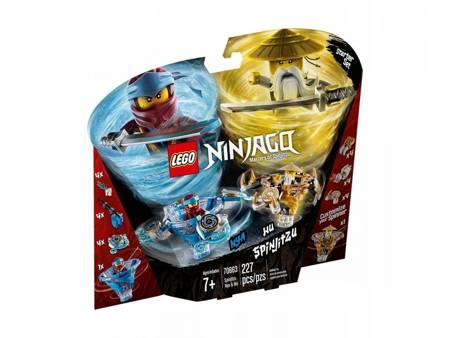LEGO 70663 Ninjago Spinjitzu Nya & Wu