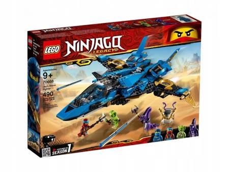 LEGO 70668 Ninjago Burzowy myśliwiec Jaya