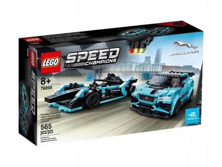 LEGO 76898 Speed Champions Formula E Jaguar Racing