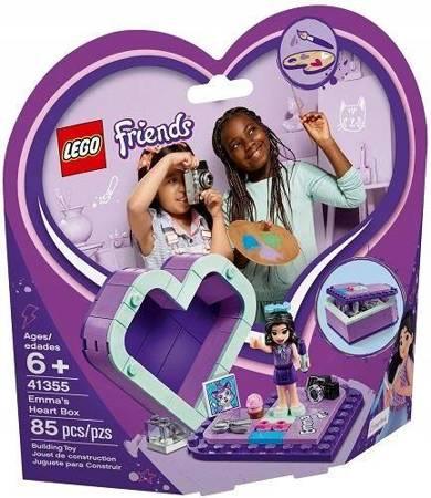 LEGO FRIENDS Pudełko Serce Emmy 41355