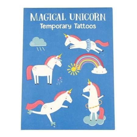 Tatuaże zmywalne dla dzieci Jednorożec Rex London